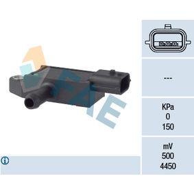 Exhaust pressure sensor for NISSAN Navara Pickup (D40) cheap order