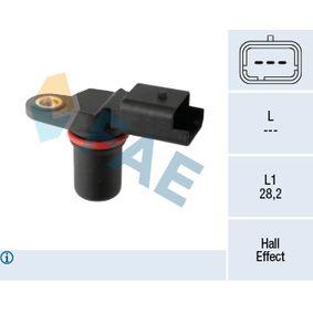 79298 FAE Hallsensor Pol-Anzahl: 3-polig Sensor, Nockenwellenposition 79298 günstig kaufen