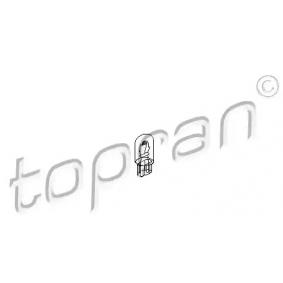 Comprar y reemplazar Lámpara incandescente, panel de instrumentos TOPRAN 104 495