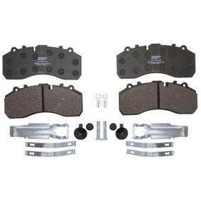 Buy SBP Brake Pad Set, disc brake 07-P29108 for DAF at a moderate price