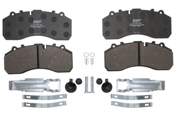 07-P29108 SBP Brake Pad Set, disc brake for MAN TGX - buy now