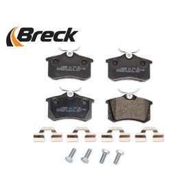 20961 10 704 00 Bremsbelagsatz, Scheibenbremse BRECK - Markenprodukte billig