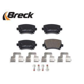 23914 00 704 00 Bremsbelagsatz, Scheibenbremse BRECK - Markenprodukte billig