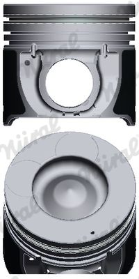NÜRAL: Original Motor Kolben 87-431700-00 ()