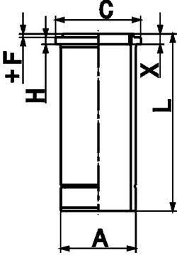 KOLBENSCHMIDT Cylinder Sleeve for MERCEDES-BENZ - item number: 89846110