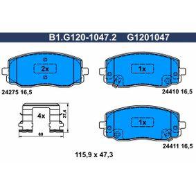 Blue Print ADG042112 Pastiglie freno