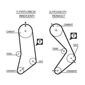 K035033 Zahnriemenkit GATES T41116 - Große Auswahl - stark reduziert