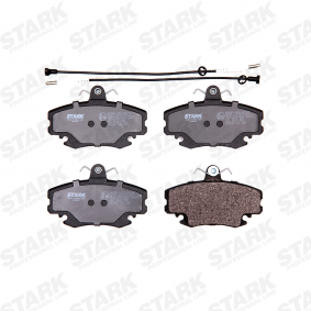 SKBP0010035 Bremsbelagsatz, Scheibenbremse STARK SKBP-0010035 - Große Auswahl - stark reduziert