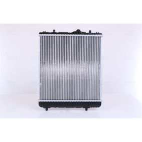 Kühler, Motorkühlung NISSENS 654620 mit 24% Rabatt kaufen