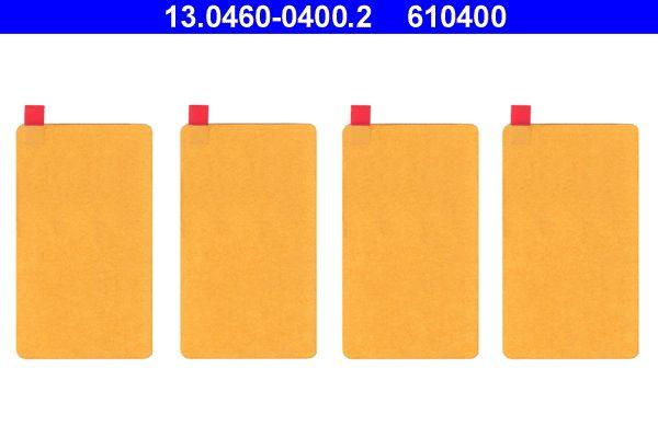 Originali Kit accessori, pastiglia freno 13.0460-0400.2 Carbodies