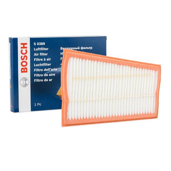 Filtro aria F 026 400 389 con un ottimo rapporto BOSCH qualità/prezzo