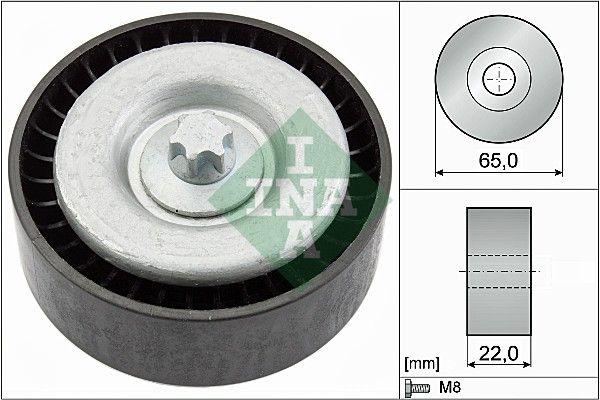 INA: Original Umlenk- / Führungsrolle, Keilrippenriemen 532 0667 10 (Ø: 65,00mm, Ø: 65,00mm, Ø: 65,00mm)