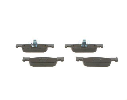 0986494661 Bremsbeläge BOSCH E190R02A01340025 - Große Auswahl - stark reduziert