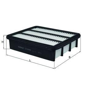Mahle filtro de aire original filtro de aire de 72358510 lx3539