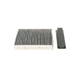 R5501 BOSCH Aktivkohlefilter Breite: 186,5mm, Höhe: 43mm, Länge: 183mm Filter, Innenraumluft 1 987 435 501 günstig kaufen