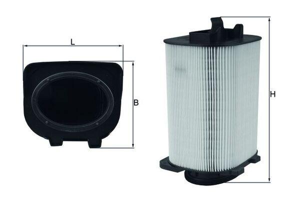 Luftfilter MAHLE ORIGINAL LX 3775 Bewertungen