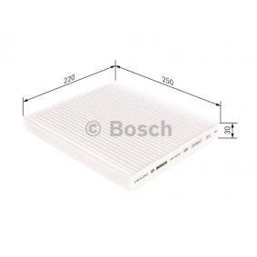 M5027 BOSCH Partikelfilter Breite: 250mm, Höhe: 30mm, Länge: 220mm Filter, Innenraumluft 1 987 435 027 günstig kaufen