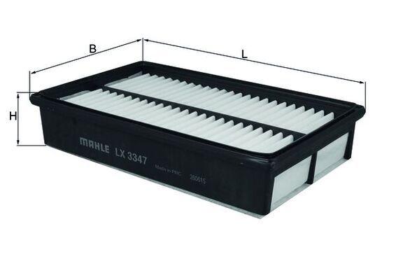Luftfilter MAHLE ORIGINAL LX 3347 Bewertungen