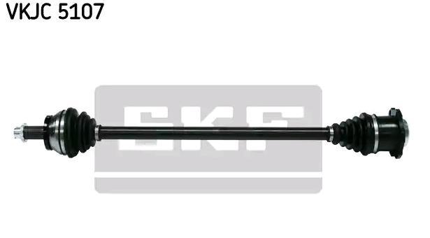 VW POLO 2014 Halbachse - Original SKF VKJC 5107 Länge: 756mm, Außenverz.Radseite: 36