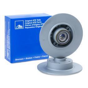 408118 ATE Voll, beschichtet, mit Lager, mit ABS-Sensorring Ø: 260,0mm, Lochanzahl: 5, Bremsscheibendicke: 8,0mm Bremsscheibe 24.0108-0118.2 günstig kaufen