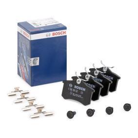 20961 BOSCH mit Schrauben, mit Montageanleitung Höhe: 52,9mm, Breite: 87mm, Dicke/Stärke: 16mm Bremsbelagsatz, Scheibenbremse 0 986 494 621 günstig kaufen