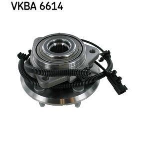 VKBA 6614 SKF med inbyggd ABS-sensor Hjullagerssats VKBA 6614 köp lågt pris