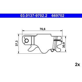 03.0137-9702.2 Reparatursatz, Automatische Nachstellung ATE in Original Qualität