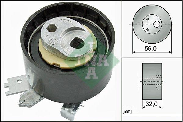 INA: Original Spannrolle, Zahnriemen 531 0906 10 ()