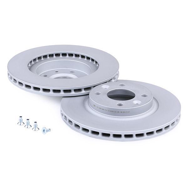24012202891 Disques de frein ATE 24.0122-0289.1 - Enorme sélection — fortement réduit
