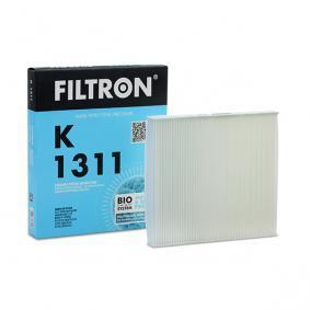 Įsigyti ir pakeisti filtras, salono oras FILTRON K1311