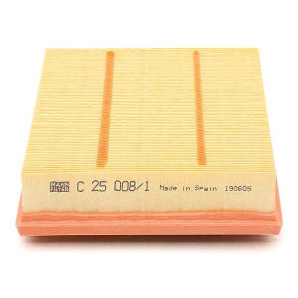 C 25 008/1 Luftfilter MANN-FILTER in Original Qualität