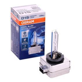 Comprare D1S OSRAM XENARC COOL BLUE INTENSE 35W, D1S (Lampada a scarico di gas), 85V Lampadina, Faro di profondità 66140CBI poco costoso