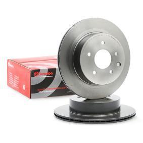 09.8969.21 BREMBO COATED DISC LINE Innenbelüftet, beschichtet Ø: 292mm, Lochanzahl: 5, Bremsscheibendicke: 16mm Bremsscheibe 09.8969.21 günstig kaufen