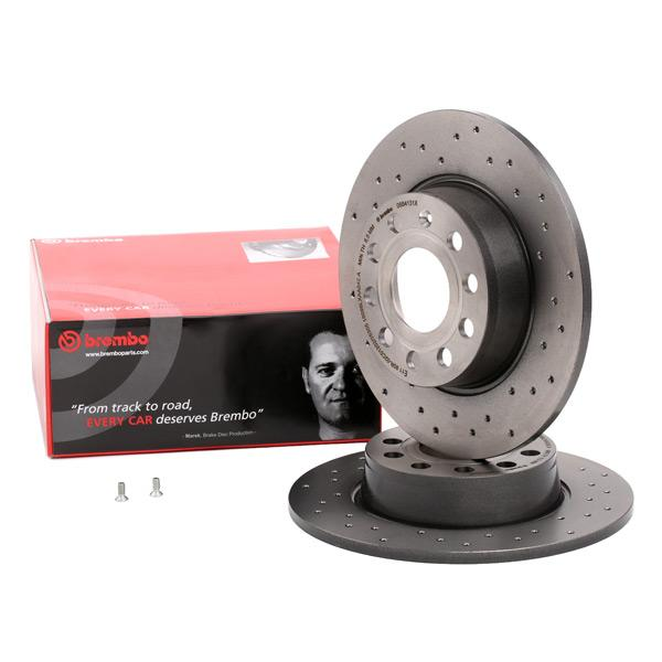 Brake Disc BREMBO 08.B413.1X Reviews