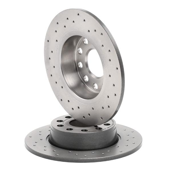 08.B413.1X Disques de frein BREMBO originales de qualité