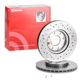 BREMBO 09.5674.2X Brake Disc Rotors Set of 2