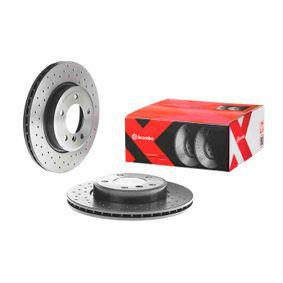 Brembo 09.9928.14/Kit disques de frein avant