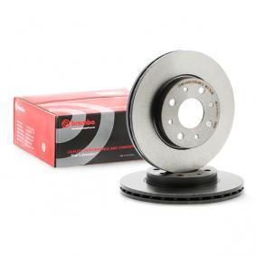 Comprare 09.8616.11 BREMBO COATED DISC LINE Autoventilato, rivestito, con bulloni/viti Ø: 240mm, N° fori: 4, Spessore disco freno: 20mm Disco freno 09.8616.11 poco costoso