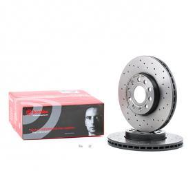 09.9145.1X BREMBO BREMBO XTRA LINE Perforated / Vented, Coated, with screws Ø: 288mm, Num. of holes: 5, Brake Disc Thickness: 25mm Brake Disc 09.9145.1X cheap