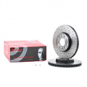 09.9145.1X BREMBO XTRA LINE Perforated / Vented, Coated, with screws Ø: 288mm, Num. of holes: 5, Brake Disc Thickness: 25mm Brake Disc 09.9145.1X cheap
