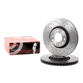 09.9369.1X BREMBO BREMBO XTRA LINE Perforated / Vented, Coated, High-carbon Ø: 308mm, Num. of holes: 5, Brake Disc Thickness: 25mm Brake Disc 09.9369.1X cheap