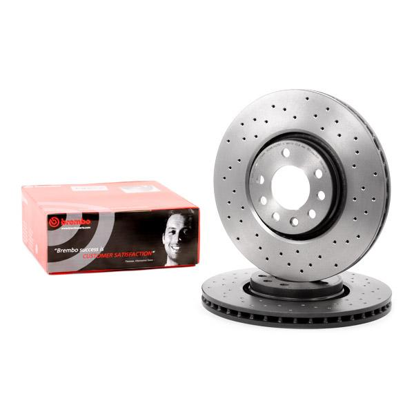 Bremsscheibe BREMBO XTRA LINE BREMBO 09.9369.1X