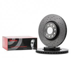 09.9772.1X BREMBO BREMBO XTRA LINE Perforated / Vented, Coated, High-carbon, with screws Ø: 312mm, Num. of holes: 5, Brake Disc Thickness: 25mm Brake Disc 09.9772.1X cheap
