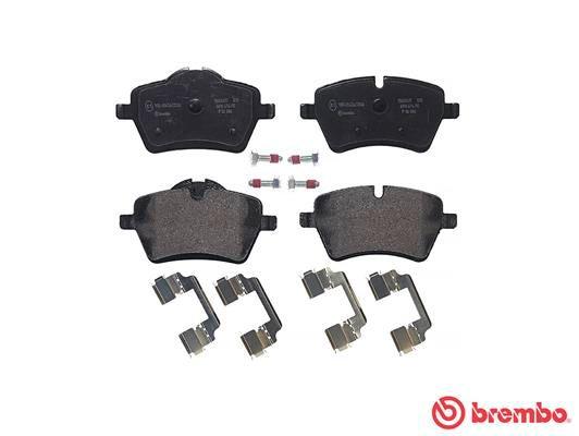 P 06 086 Bremssteine BREMBO in Original Qualität