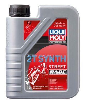 LIQUI MOLY Motorbike 2T Synth, Street Race Motorolja 1l, Syntetolja 1505 PUCH