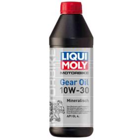 Pirkti moto LIQUI MOLY Motorbike GL4 10W-30, turinys: 1l API GL4 Greičių dėžės alyva 3087 nebrangu