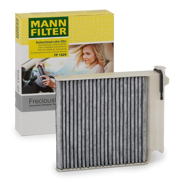 RENAULT TWINGO 2014 Innenraumluftfilter - Original MANN-FILTER FP 1829 Breite: 180mm, Höhe: 28mm, Länge: 185mm