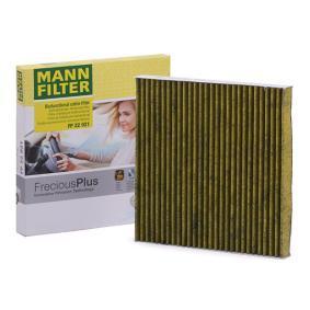 FP 26 021 Filtro Polline Mann-FilterFILTRO dell/'abitacolo aria freciousplus