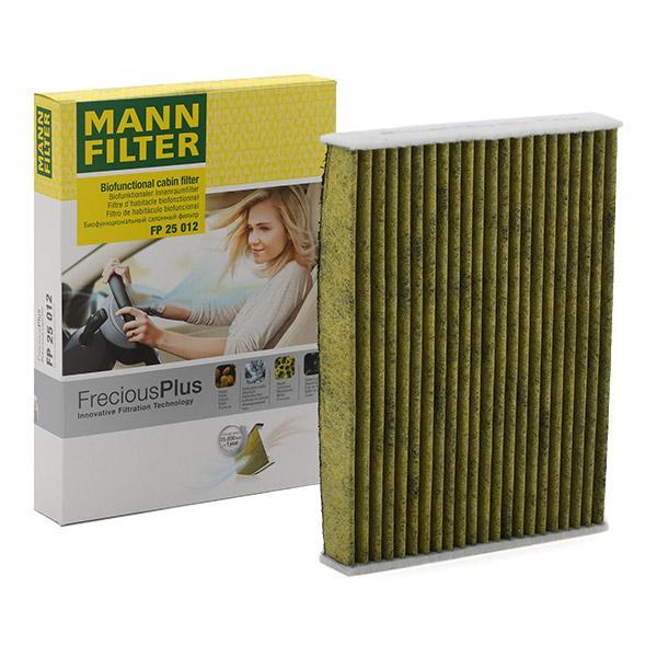 Filter, Innenraumluft MANN-FILTER FP 25 012 Bewertungen