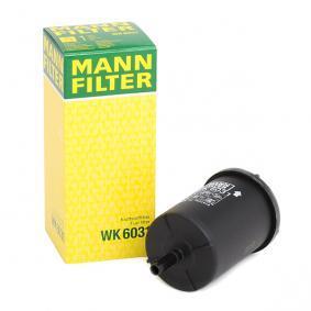 WK 6031 MANN-FILTER Höhe: 146mm Kraftstofffilter WK 6031 günstig kaufen